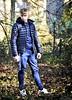 (Klinikle) Tags: male model blonde fitness sport style fashion casual forest nature castle body warmer bodywarmer