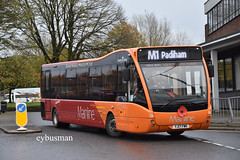 Transdev Burnley & Pendle 247, YJ17FWK. (EYBusman) Tags: transfer blaze field burnley pendle bus company town centre lancashire brand new optare versa mainline yj17fwk eybusman