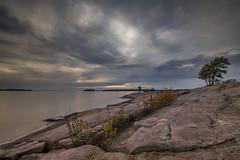 Killbear Provincial Park Sunset (angie_1964) Tags: killbear provincial park sunset water nature landscape seascape rock cloud sky nikond850 ontario canada haroldpoint nikon1635mmf40 briankrouskie man