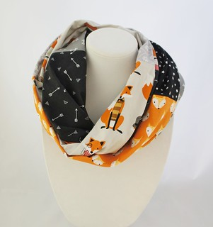 SOAK couture infinity scarf