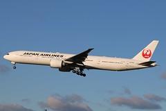 JA735J - LHR (B747GAL) Tags: japan airlines boeing b777346er lhr heathrow egll ja735j