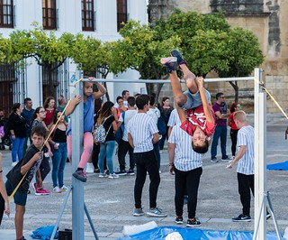 Young Acrobats in Arcos