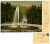 Roncegno. Parco dello stabilimento. Grande Emporio Trentino. Spedita nel 1907 (Ecomuseo Valsugana | Croxarie) Tags: roncegno roncegnoterme cartolina parco parcodelleterme terme bagni 1907