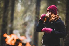 Autumncoffee-11 (junestarrr) Tags: autumn fall firstsnow finland oulu kalimenoja outdoors woods nature coffee kuksa bonfire trees forest intothewild vaiko peakperformance north nordic visitfinland