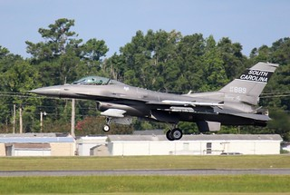 SCANG F-16C Fighting Falcon, 157th FS, 169 FW, Swamp Fox,