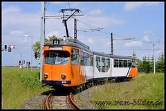 522-2014-06-01-2-Wendeschleife Boxberg (steffenhege) Tags: gotha thüringerwaldbahn tram strasenbahn streetcar duewag ngt8nf 522