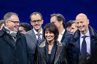 Andreas Meyer, Doris Leuthard, Marc Walder