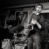 Chris Cheek & Anthony Pinciotti (paolo agostini) Tags: cockneylondonpub padovajazzclub jazz bw bn bianconero blackwhite sassofono sax batteria drums chrischeek anthonypinciotti