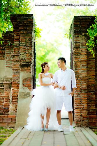Wat Yai Chai Mongkhon Ayutthaya Thailand Wedding Photography | NET-Photography Thailand Wedding Photographer