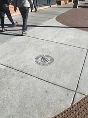 (Plannerd) Tags: sign signage sidewalk walkability bikeinfrastructure bicycle walkyourwheels mainstreet downtown breckenridge colorado pedestrianzone dismountzone