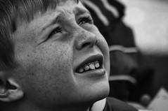Freckles (Frank Fullard) Tags: frankfullard fullard candid street portrait face freckles belmullet erris mayo irish ireland look young boy youth innocence mischief mischevious monochrome blackandwhite expression