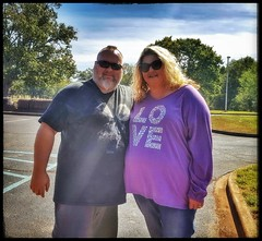10/20/17 - Cousin Pam and I (CubMelodic23) Tags: october 2017 vacation trip alabama wheelerdam hdr selfportrait me dave cousinpam family