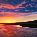 Sitting At The Lake At Sunset thumbnail