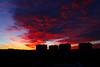 Buenos días!!!! (chuscordeiro) Tags: buenosdias amanecer color cielo sky sunrise clouds colour morning madrid usera españa canon1dxmarkii canon1635f4 spain urbana street contraluz