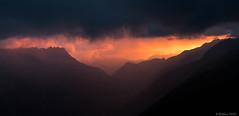 photo Guillaume / levé de soleil au pays du mont blanc / été 2017 (Mollier Guillaume) Tags: chamonix montblanc mountain paysage landscape