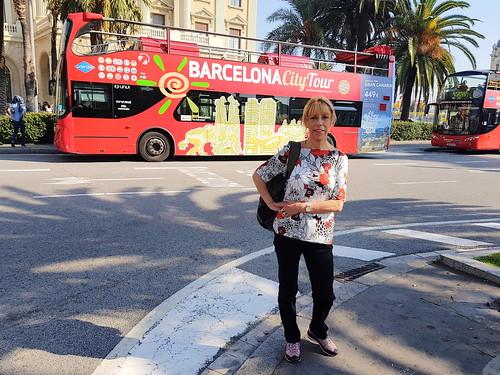 Jeanette Barker near Colom, Barcelona, Spain