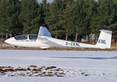 K21 landing on snow