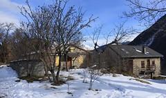 Chez Jérémie (bulbocode909) Tags: valais suisse montchemin chezjérémie montagnes nature neige automne paysages chalets bleu arbres