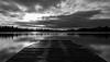 BW Mere sunrise (EYeardley) Tags: themere ellesmere lake mere shropshire longexposure slowshutter 10stopfilter hoyafilters bw blackandwhite bwedit nikon nikond3300