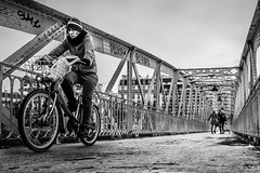 Life is like riding a bicycle, to stay balanced you need to keep moving (Mustafa Selcuk) Tags: paris parisienne bridge steel steelconstruction steelbridge france velib riding bicycles bikeriders street streetphotographer streetphotography blackandwhite bnw bw noiretblanc neb nb siyahbeyaz sb monochrome monochromatic fujifilm xt2