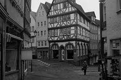 Leica Fotopunkt - Eisenmarkt Wetzlar (heikos14) Tags: wetzlar leica eisenmarkt bw altstadt historie