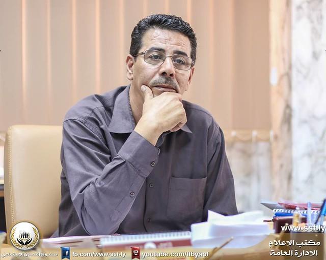 مكتب الاعلام و التوعية في زيارة لفرع صندوق الضمان الاجتماعي بنغازي الشرقي  11-8-2016