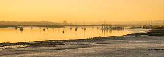River Crouch afterglow of the day.