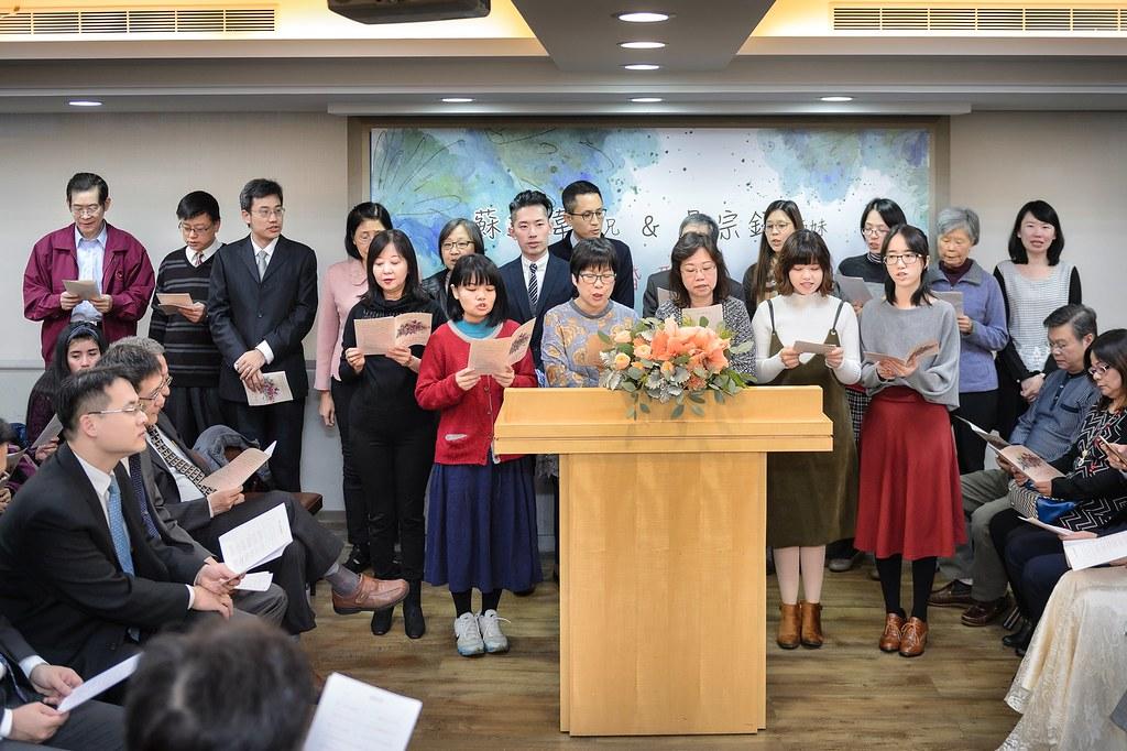 【婚攝】達偉 & 宗錦 / 台北市召會第十五聚會所