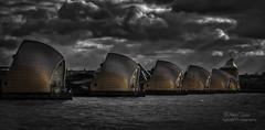 Thames Barrier II.jpg (Nigel Jones QGPP) Tags: thames thamesbarrier river london flood sun sunlight