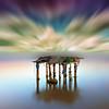 The table (canonixus1) Tags: mesa aparejos delta deltaebro atardecer sunset cursofotografia nubes radial tecnicafotografica canonixus1 canon6d canon1740 cielo sky see