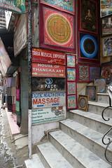 Happy ending (posterboy2007) Tags: kathmandu nepal street signs massage art happyending steps sony