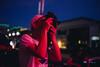 PolaCon 2017 (BurlapZack) Tags: pentaxk1 pentaxfalimited43mmf19 vscofilm pack07 dentontx polacon2017 instantfilmsociety polaroid sx70 photographer portrait availablelight neon glow red night nightlife photowalk photoclub street sidewalk downtown thesquare bokeh dof