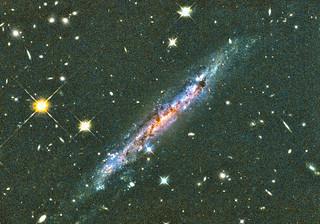 Galaxy Hosting a Gamma-Ray Burst, variant