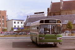 AA BUSES GMB654T (bobbyblack51) Tags: aa buses gmb654t leyland national crosville snl654 ayr bus station 1995