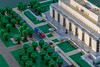 07 - National Museum of American History, Madison Drive and National Mall (wrtyler) Tags: lego architecture nationalmuseumofamericanhistory nmah nationalmall washingtondc micro microscale