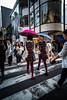 L1007730.jpg (th.zacharakis) Tags: city streetphotography color girls umbrela fashion tokyo japan lines street road crossing