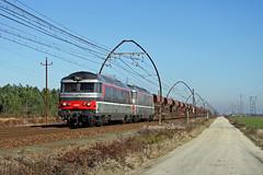 14 decembre 2010 BB 67562-67567 Train 511713 Bordeaux-Hourcade  -> Morcenx Croix-d'Hins (33) (Anthony Q) Tags: bb67562 14 decembre 2010 bb 6756267567 train 511713 bordeauxhourcade morcenx croixdhins 33 sncf gironde aquitaine infra ferroviaire bb67400