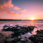 Sunset in Skerries - Ireland - Seascape photography thumbnail
