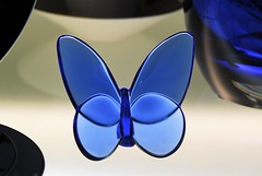 Glass butterfly in the window (Lenaprof) Tags: smileonsaturday madeofglass