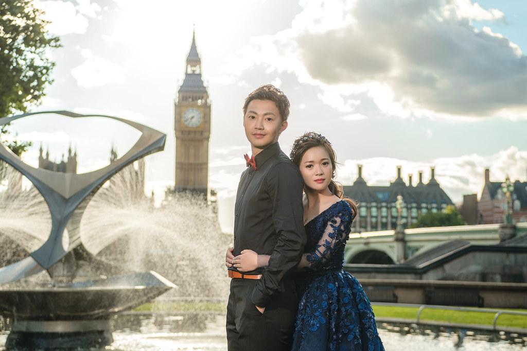 倫敦婚紗 倫敦大笨鐘婚紗拍攝 禮服: Toris Wedding