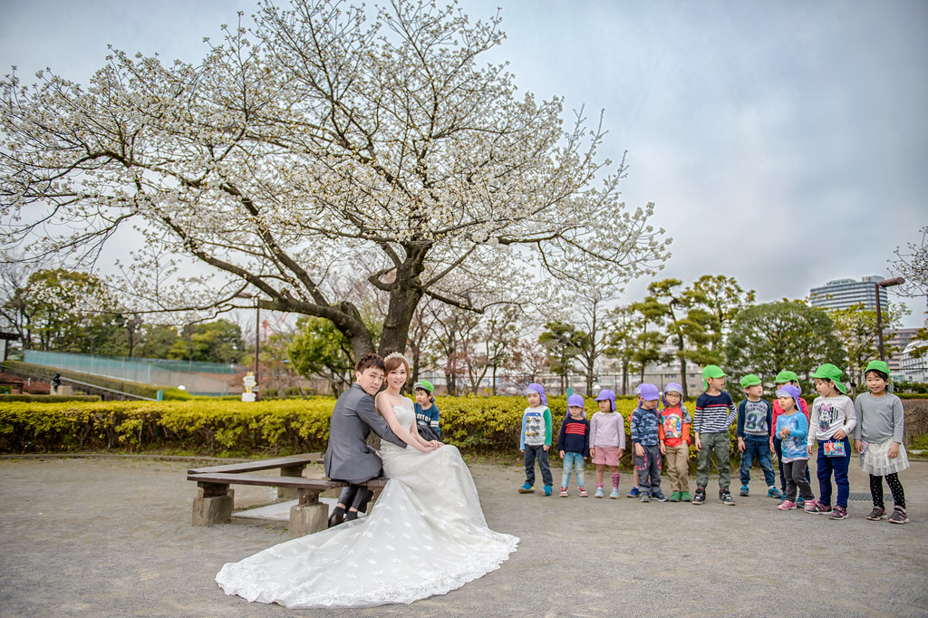 東京婚紗 荒川線婚紗拍攝