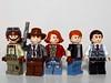 Western Figbarf (Windusky) Tags: lego western cowboy old west wild engineer sheriff criminal robber mayor figbarf minifigure