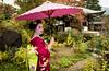 Mameryu - Maiko in Kyoto 04 (JUNEAU BISCUITS) Tags: kyoto gion geisha maiko japan japanese kimono tradition umbrella portrait portraiture nikon nikond810 beauty garden