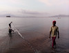 Fishermen at dusk (Julien Lagarde) Tags: beach crepuscule crepusculo dusk fishermen peche pecheur pescador plage sea waigete nusatenggaratimur indonesia id
