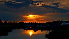 Parque Metropolitano de Agua Luis Buñuel (portalealba) Tags: zaragoza zaragozaparque aragon españa spain atardecer sunset sol nubes nwn portalealba pentax pentaxk50 1001nights 1001nightsmagiccity