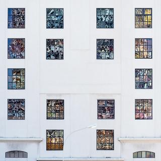 Les vitraux du silo