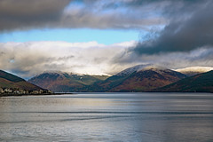 Snow arrives in Rothesay Bay, Isle of Bute.. (ArgyllFoto) Tags: snow