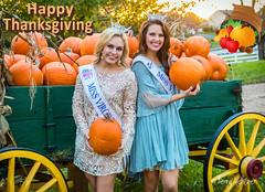 Happy Thanksgiving (Terry Aldhizer) Tags: miss virginia teen isabella jessee cecili weber happy thanksgiving wagon pumpkins farm sunset autumn holiday ladies people women terry aldhizer wwwterryaldhizercom