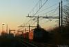 Tramonti ferroviari (Massimo Minervini) Tags: e652 tigre mrv eaos ferro malagnino cremona tramonto sunset redsky redlight ombre canon400d mir
