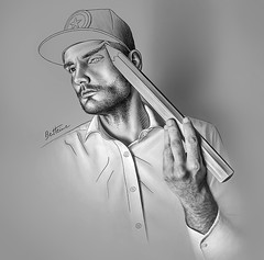 Ben Heine Self portrait (Ben Heine) Tags: benheinedrawingselfportrait benheineart sketch drawing dessin art pencil crayon portrait selfportrait photography photo music selfshot instalovers selfie graphicdesign arte potlood draw escher benheine